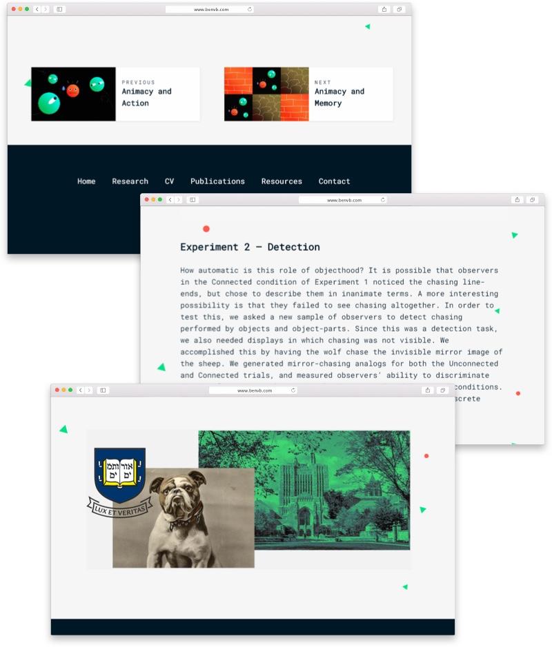 Ben van Buren website