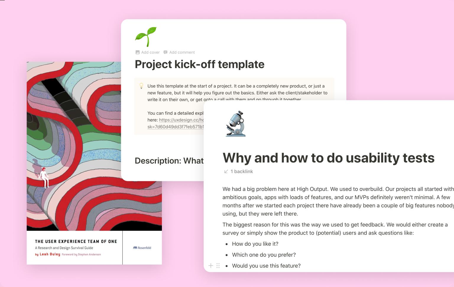 Design department toolbox